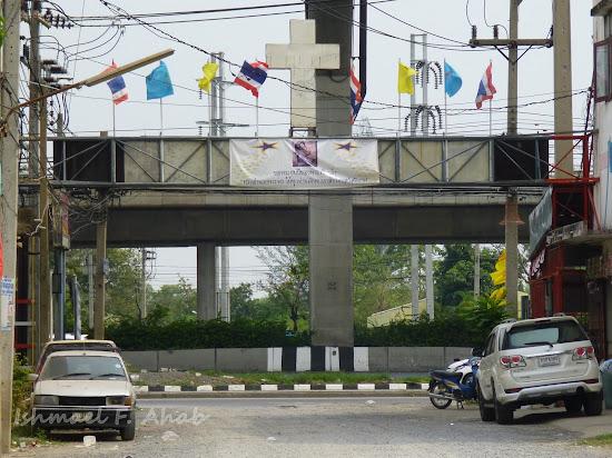 Arch to Rangsit Catholic Church