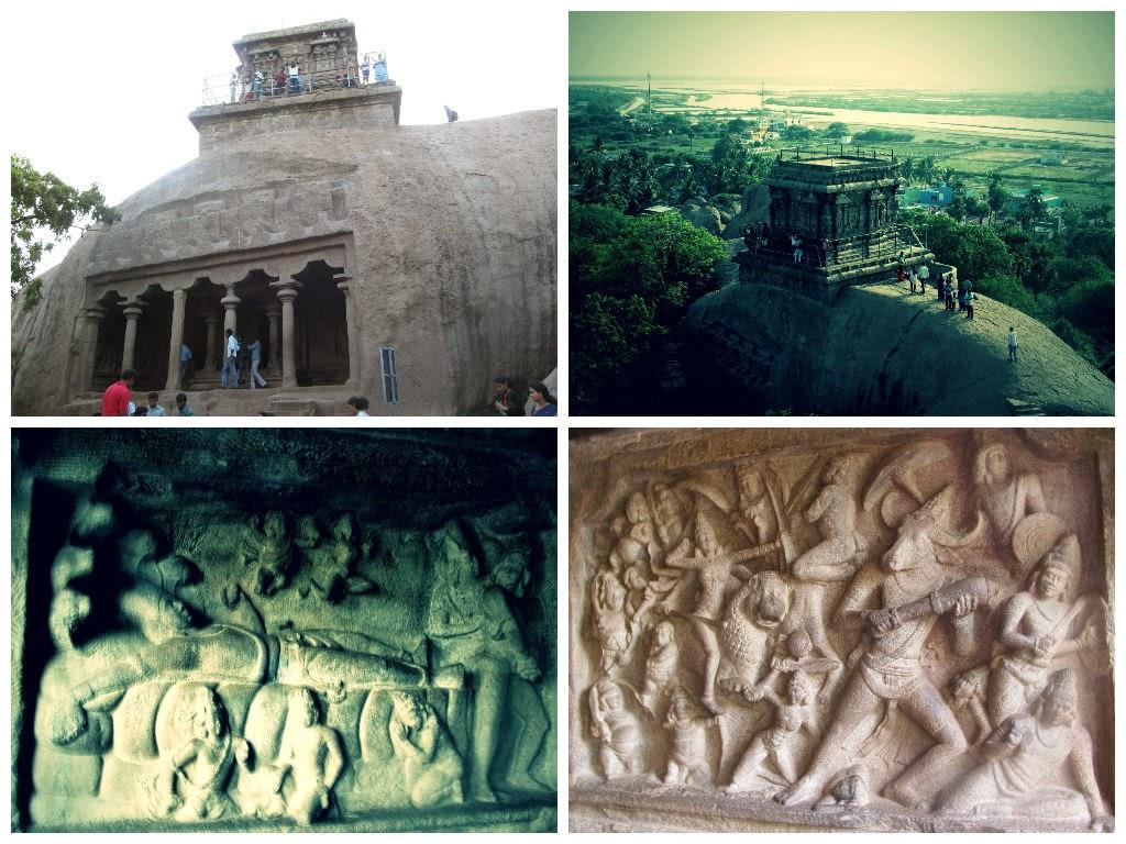 Mahisasura mardini caves in Mahabalipuram