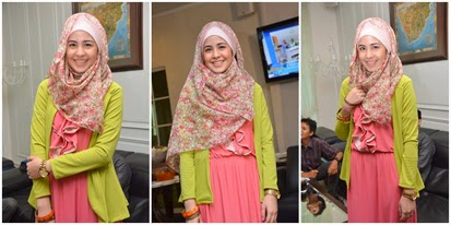 Kessdsds Trend Model Dan Gaya Hijab Artis Indonesia