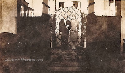 Wedding of Woody and Velma Davis Woodring 1927