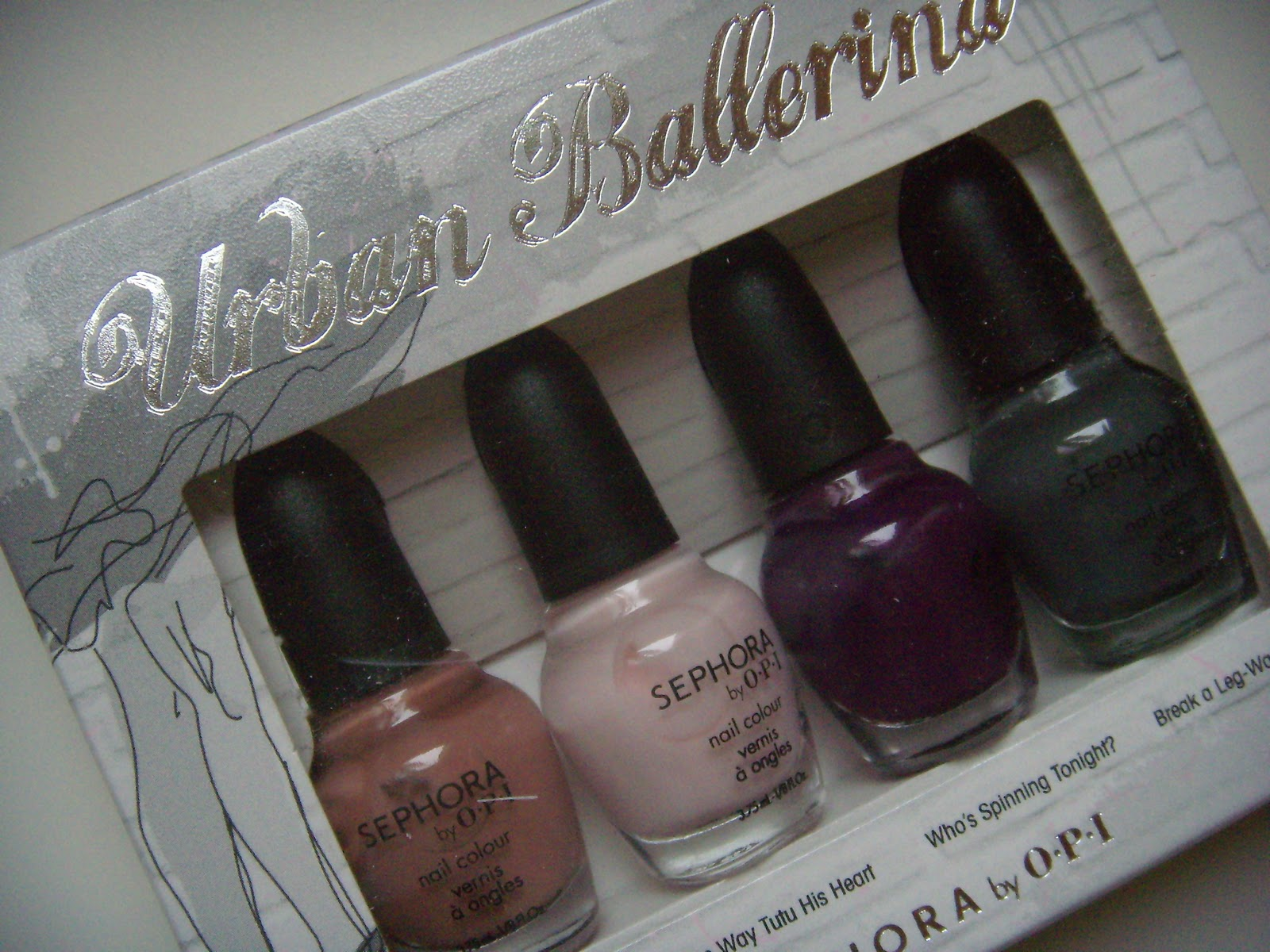 ... Ballerina collection- the perfect balance of nude and trendy shades!