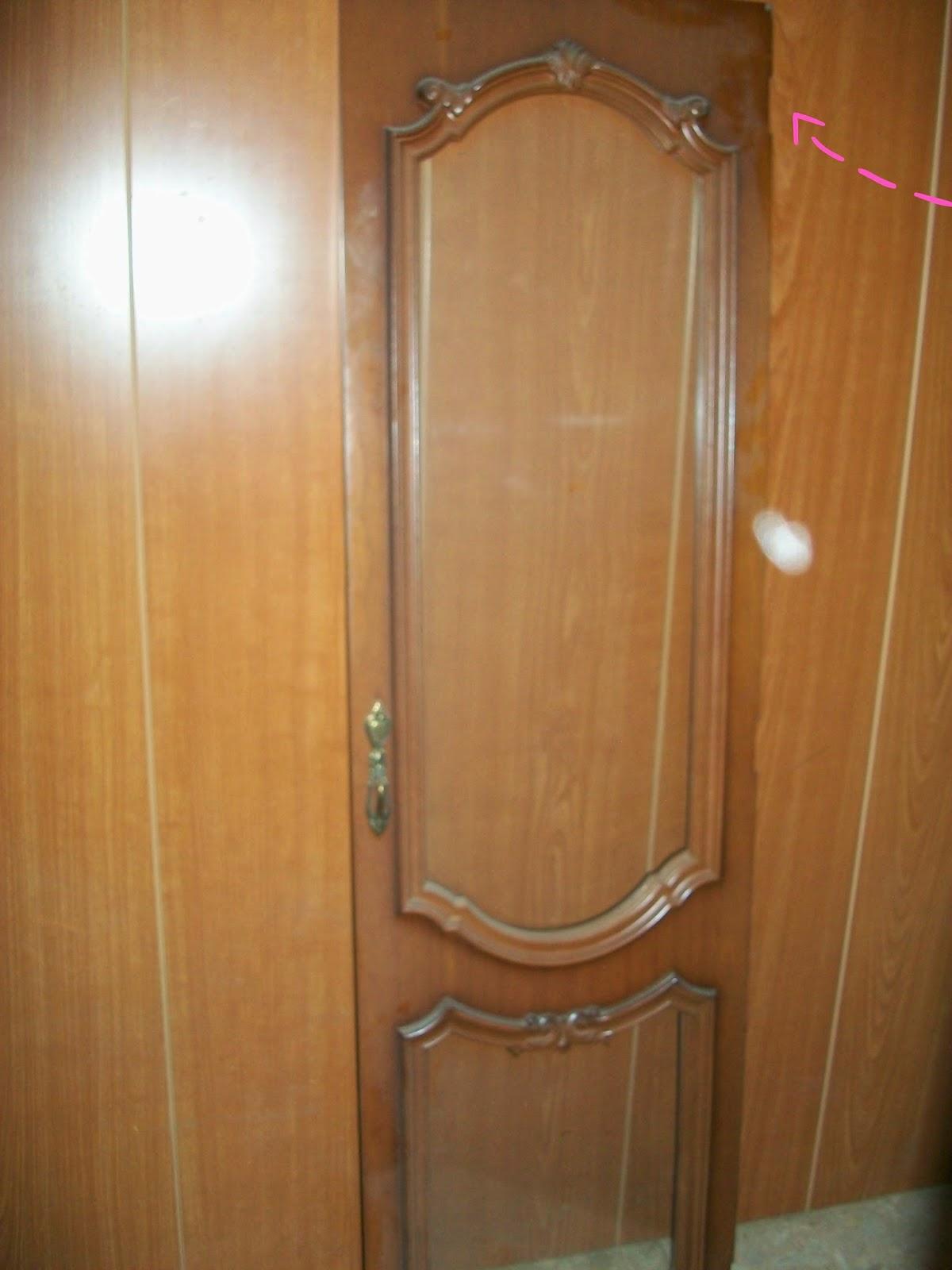 Lacasaconchanclas reciclaje de puertas de un mueble - Mueble de reciclaje ...