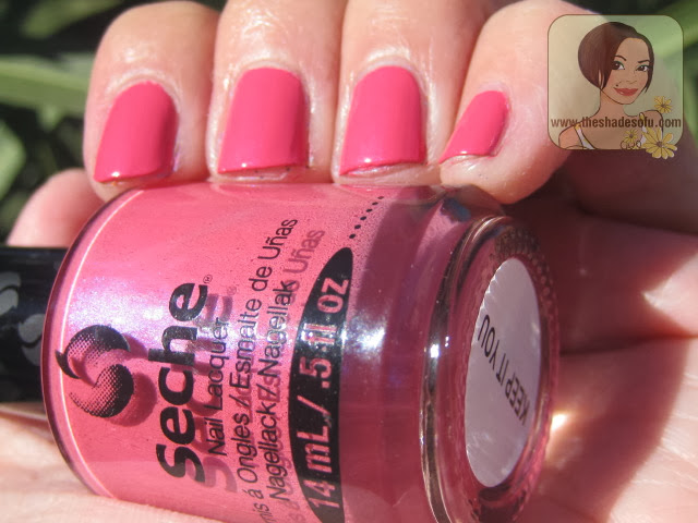 Seche Nail Lacquer in Keep It You