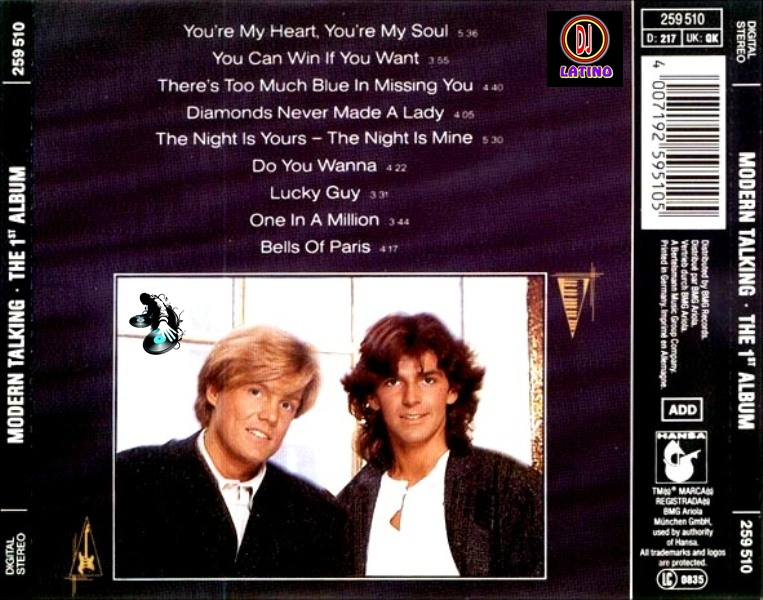 Modern Talking The 1st Album