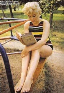 Marilyn leyendo Ulises