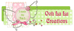 Ooh La La Creations - Top 3 - Challenge 203 - Photo Inspiration - 25 April 2016