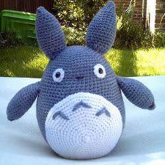 Totoro Amigurumi Lanas Y Ovillos : Patrones Amigurumi: Totoro amigurumi