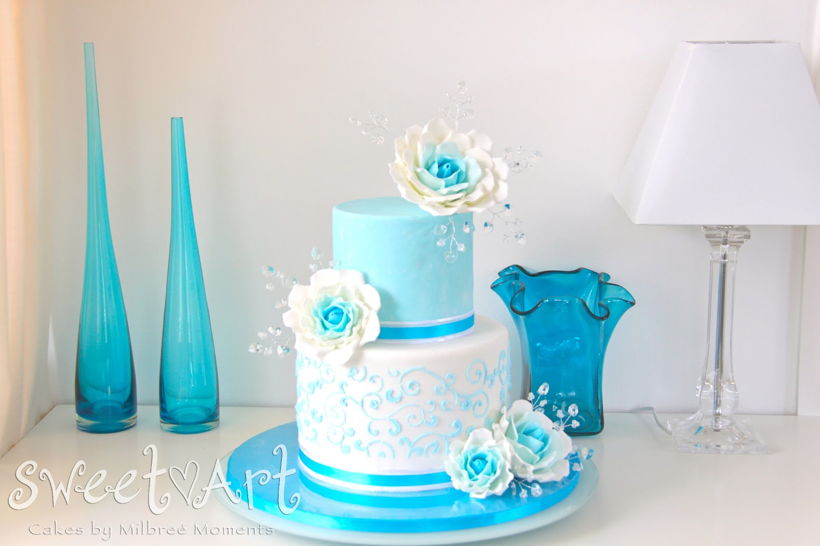 Colorful Teal Blue Wedding Theme Model - The Wedding Ideas ...