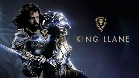 Dominic Cooper King Llane Wrynn Warcraft Movie Foster Poster Arsip