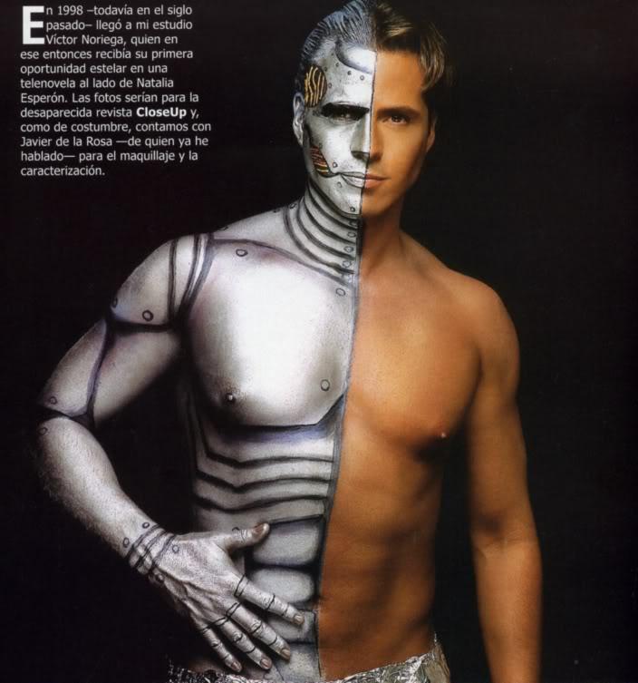 gay male body
