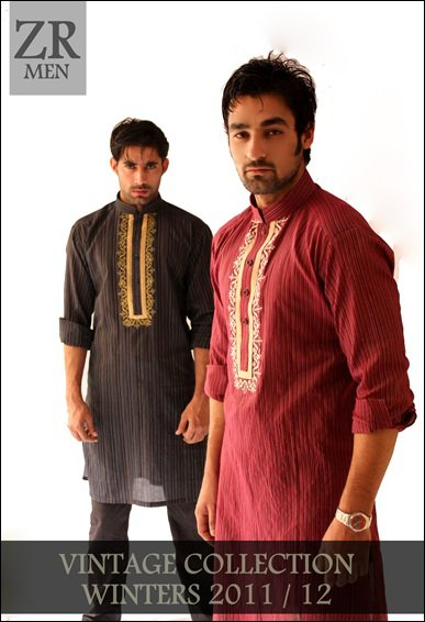 Vintage Men's Winter/Eid By Zayn Rashid Designs | Vintage Men's Winter/Eid Collection 2011-2012