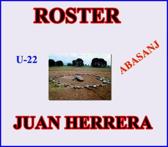 ROSTER JUAN HERRERA