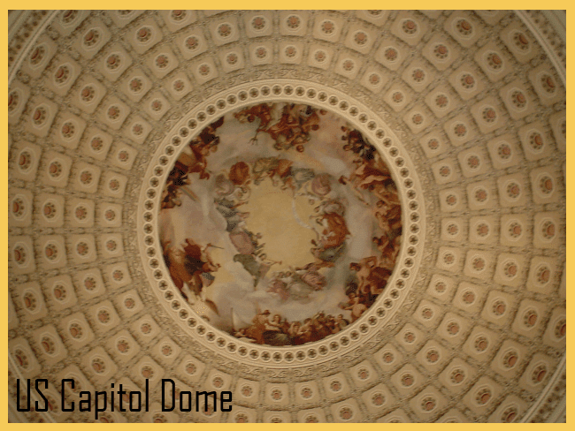 The dome of the US Capitol