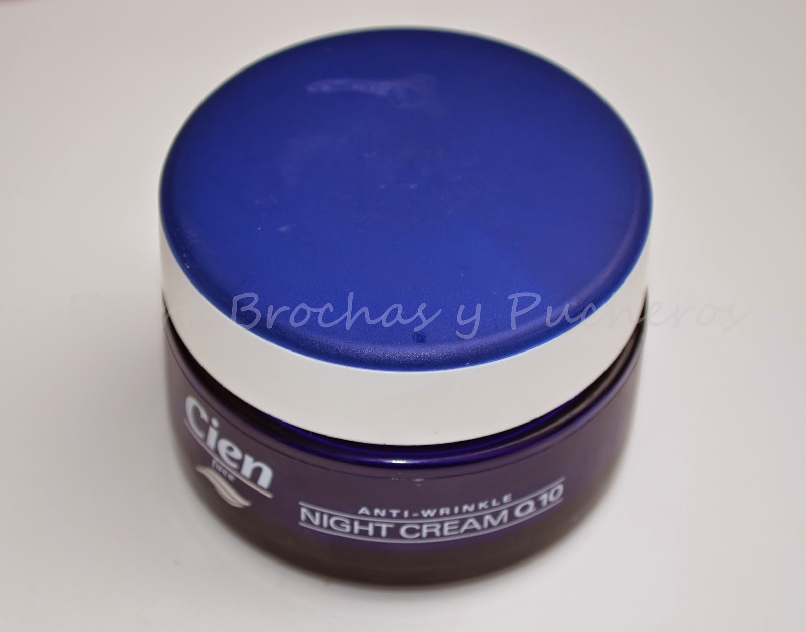 Entre brochas y pucheros review de la crema anti arrugas de noche q10 de la marca cien - Thermomix del lidl precio ...