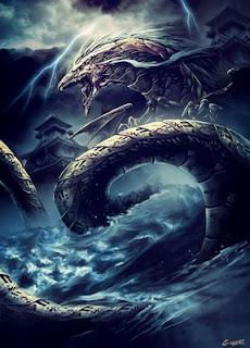 Gambar Naga Langit
