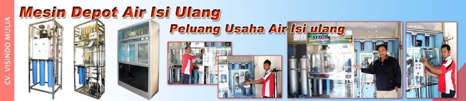 mesin depot air isi ulang