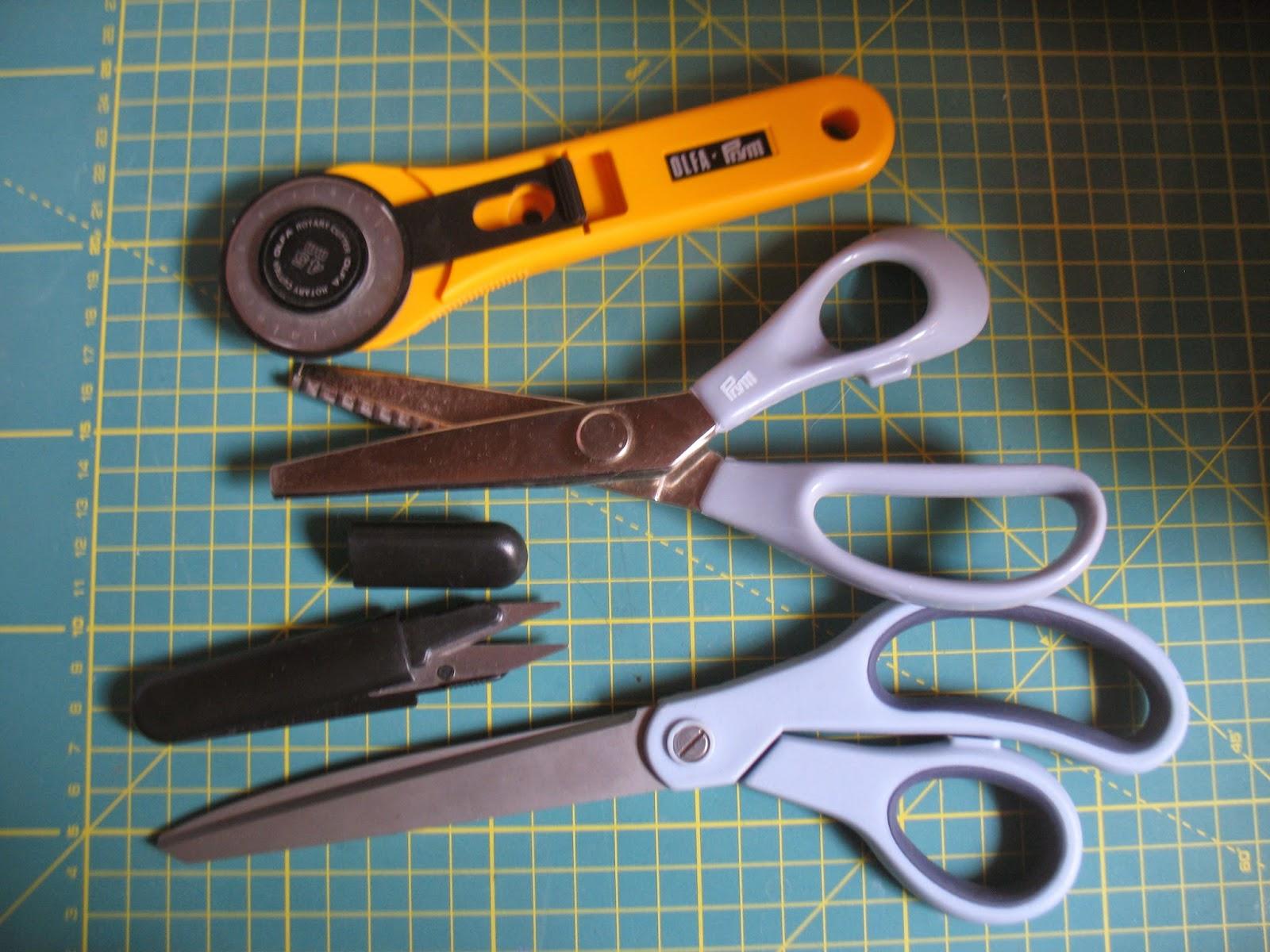 резчик нитей, ножницы-зиг-заг, роликовый нож