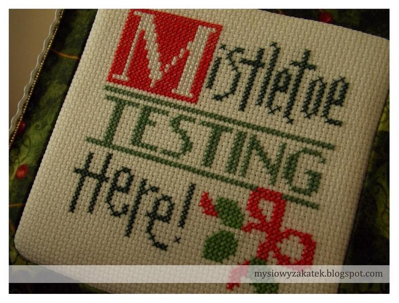 Mistletoe testing here