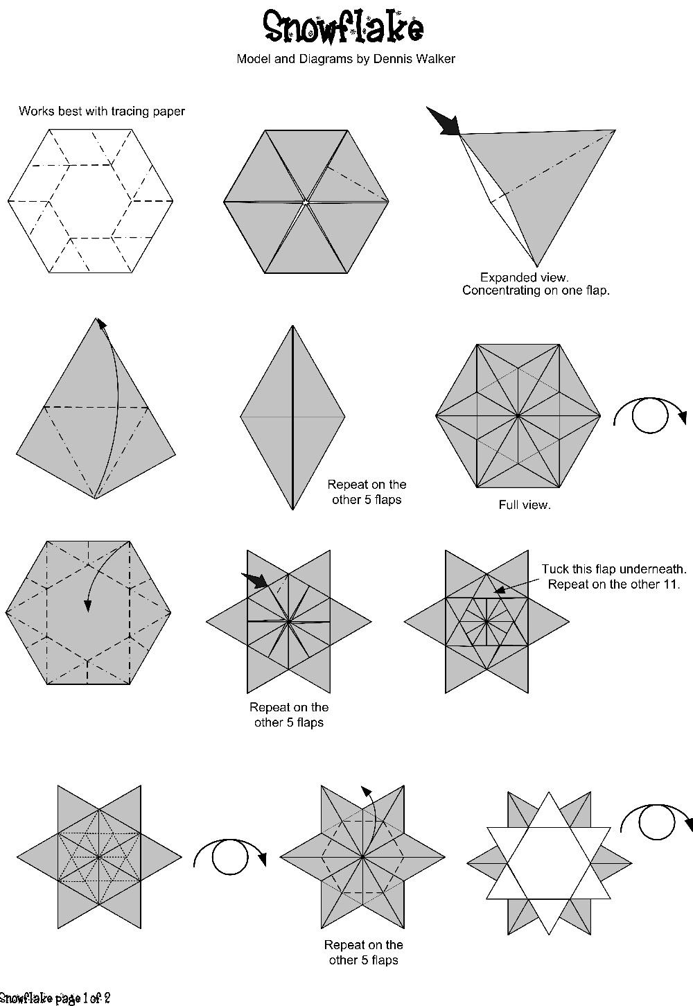 Matin Lumineux Etoile En Origami