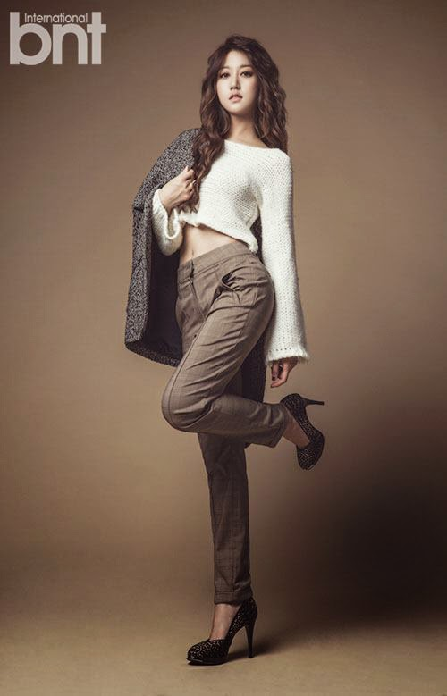 Seungah Rainbow - bnt International November 2014