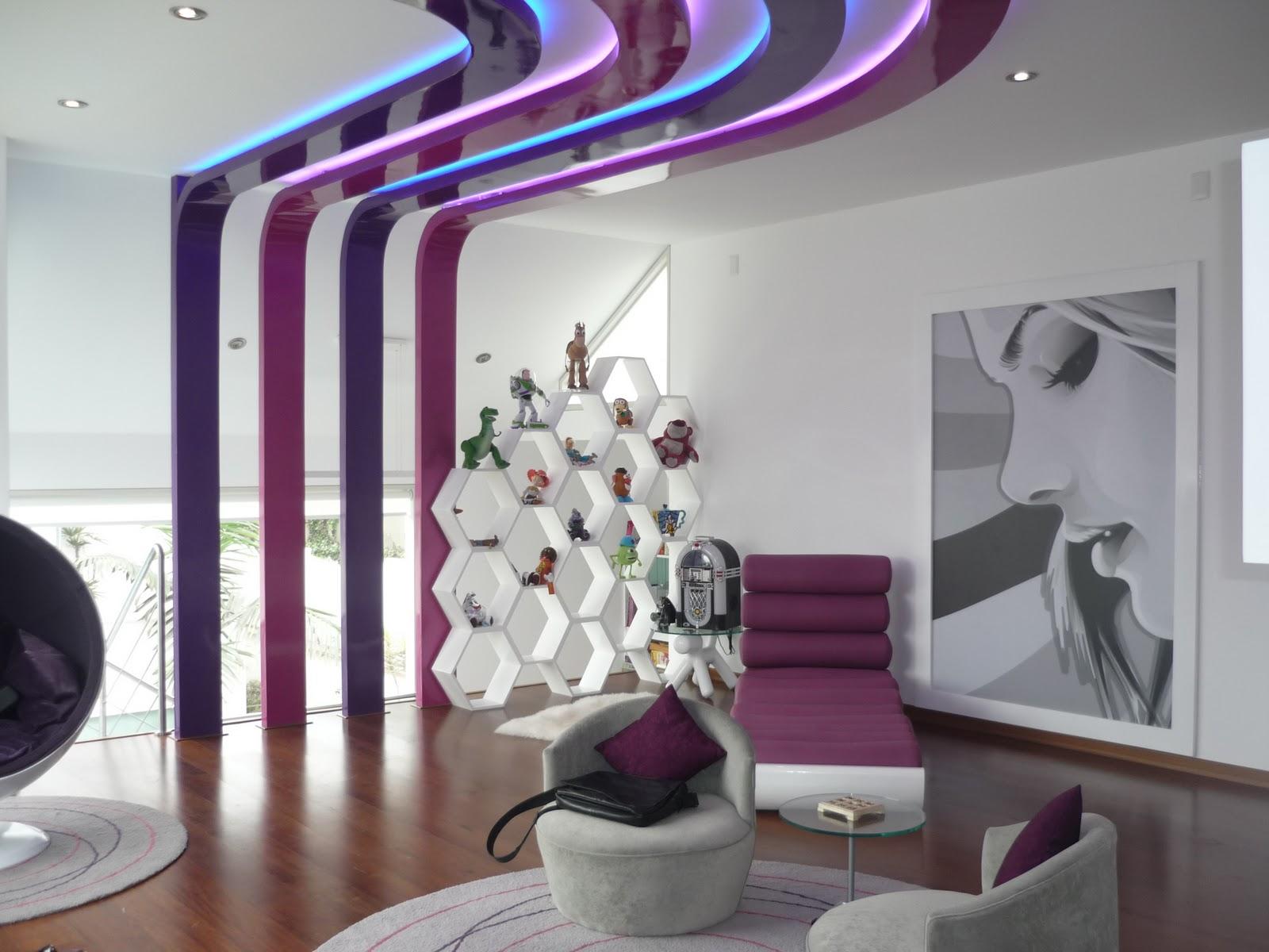Dise o interior cuarto de entretenimiento para ni as for Disenos de cuartos de ninas