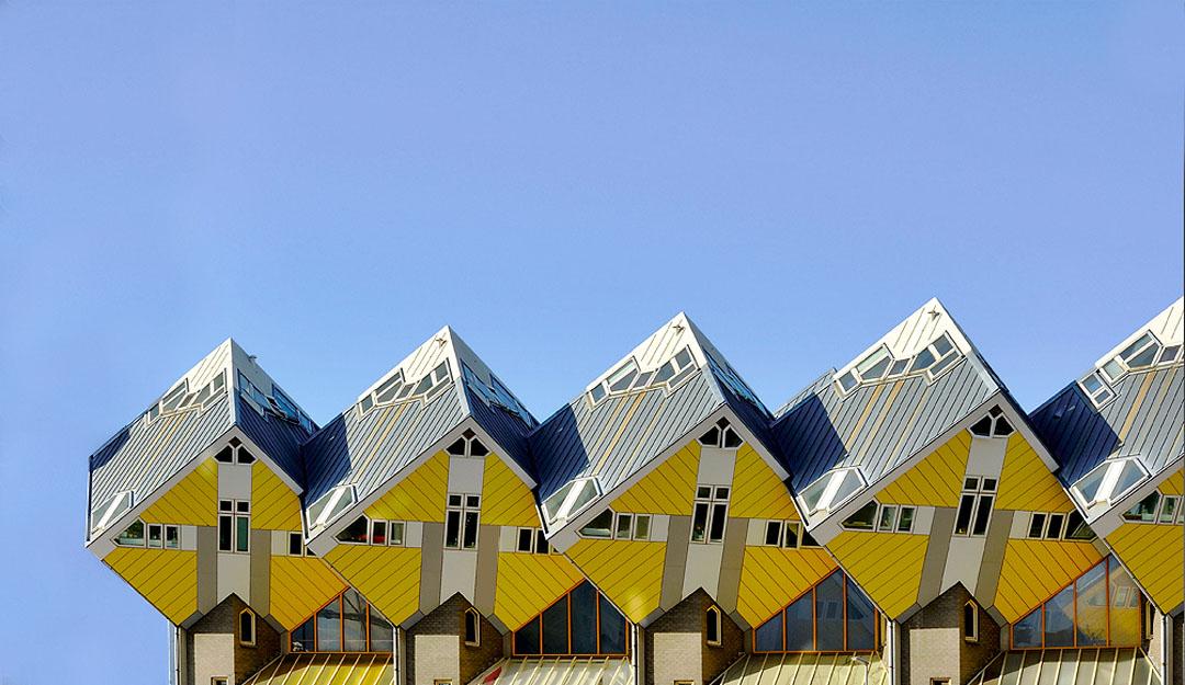 Avant Garde Architecture By Piet Blom Modern Design