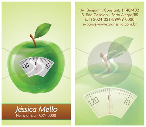 Cart%25C3%25A3o%2Bde%2BVisita%2BNutricionista%2B%25282%2529 - Cartões de Visita de Nutricionistas