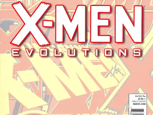 X-Men Evolutions - Evolução do visual de algumas personagens