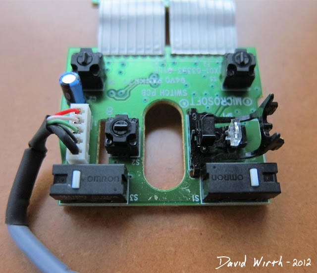 inside a windows mouse, optical mouse, mini button, how to, hack, arcade button, wire