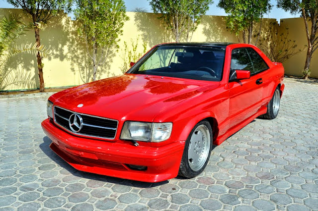 Mercedes W126 500sec Amg Coupe Widebody Benztuning