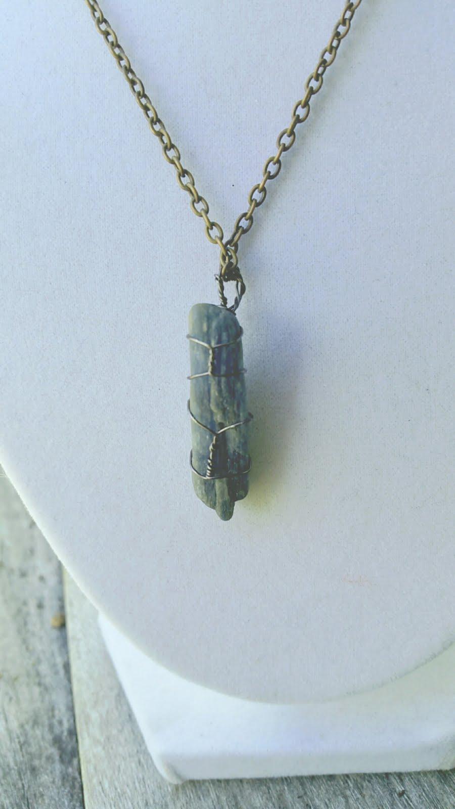 Kyanite Healing Pendant