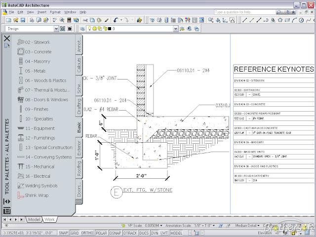 Architecture Autocad