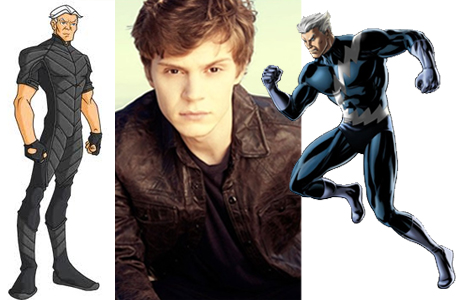 Evan Peters y Mercurio