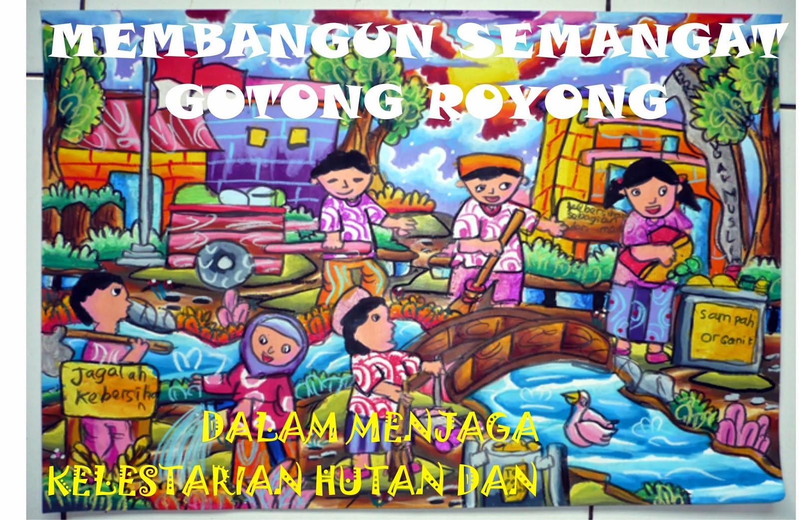 Poster Gotong Royong