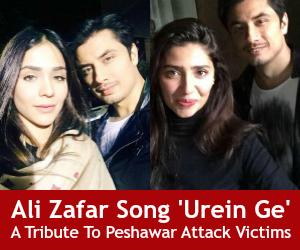 Ali Zafar Song