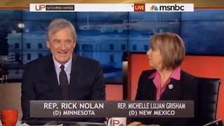 Rep. Rick Nolan (D-MN), gun safety advocate