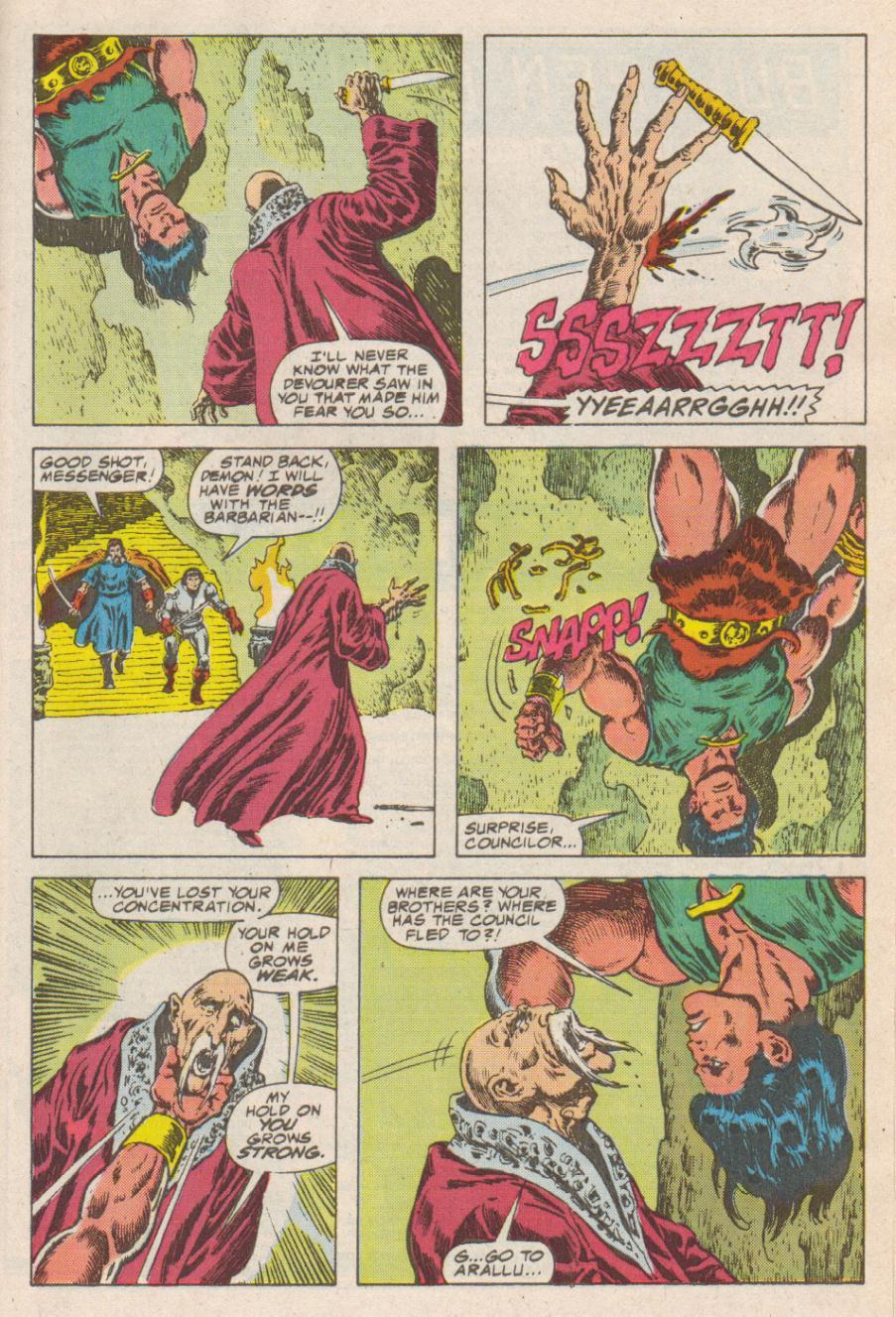 Conan the Barbarian (1970) Issue #190 #202 - English 21
