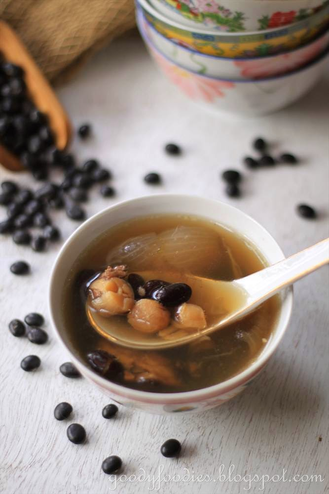 Goodyfoodies recipe chinese black bean soup goodyfoodies forumfinder Image collections
