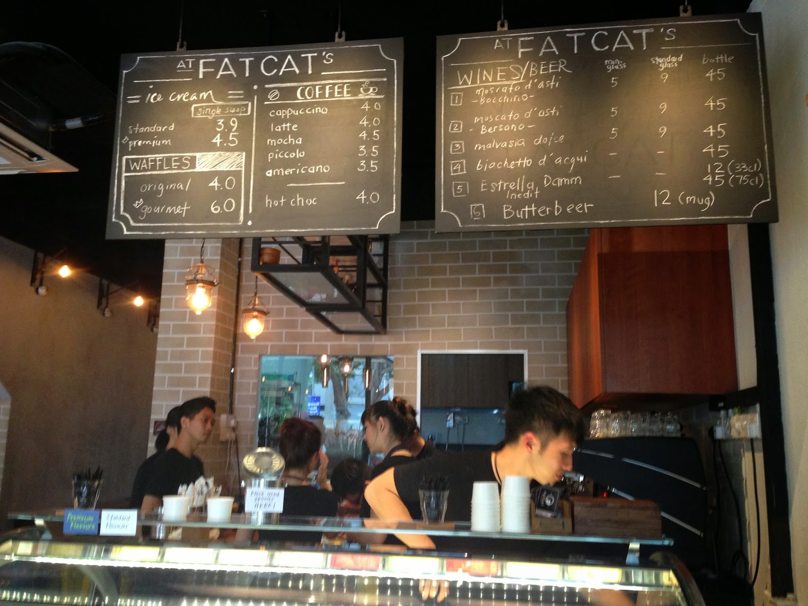 Fatcat Ice Cream Bar Bedok North Ave 2 Jacqsowhat Food Travel