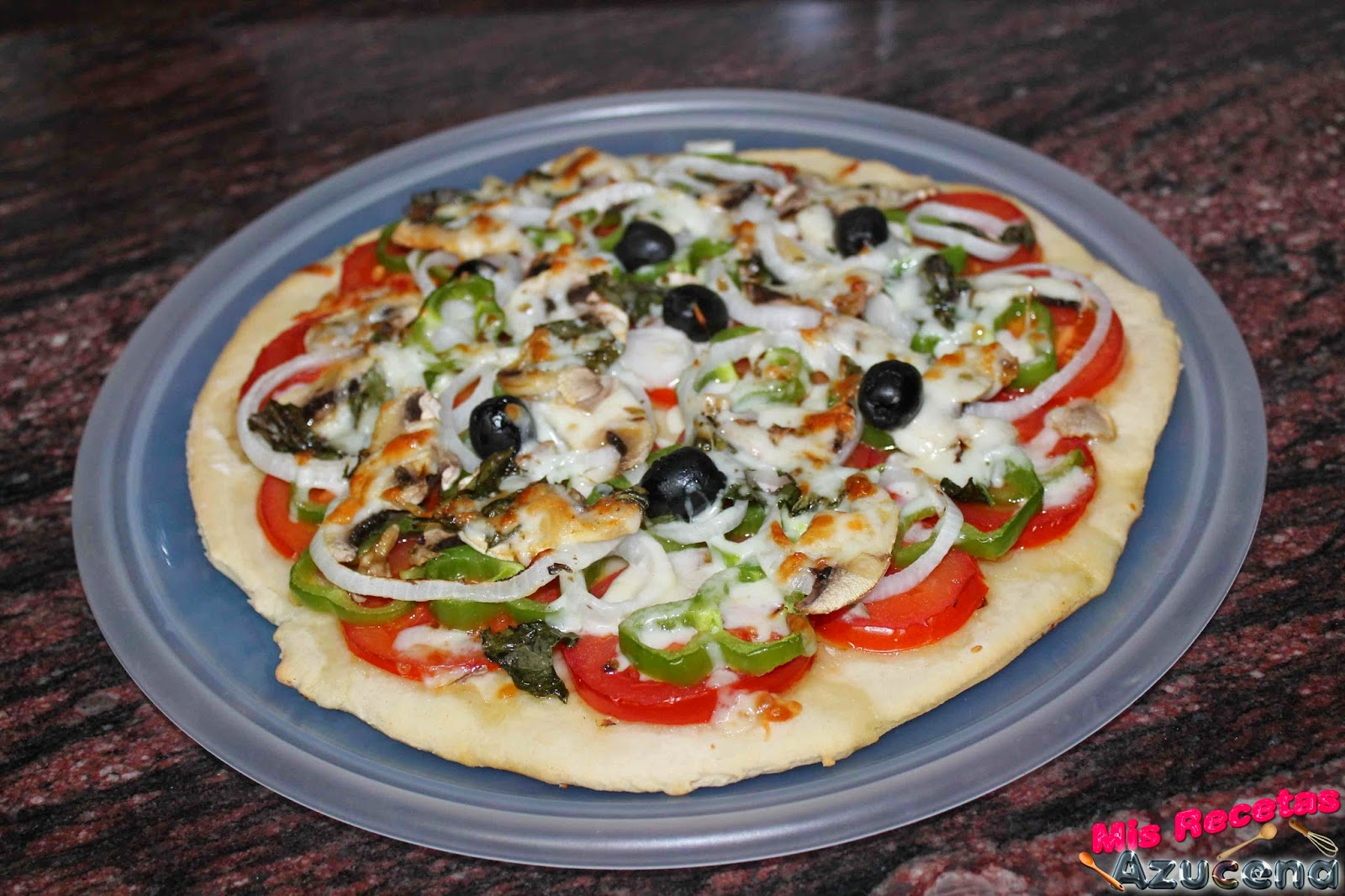 Pizza Vegetal....