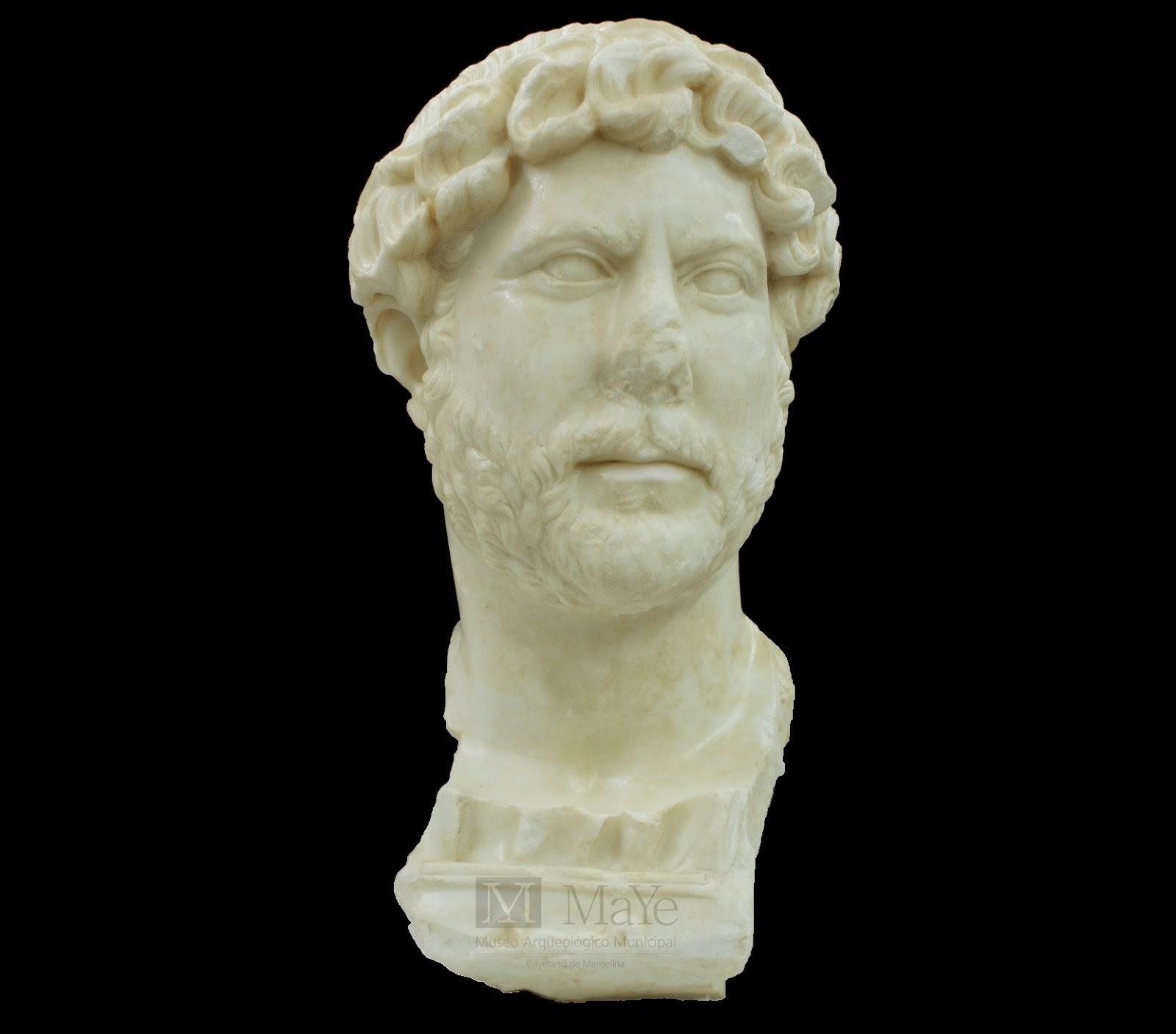 Προτομή του αυτοκράτορα Αδριανού ανακαλύφθηκε στην Ισπανία