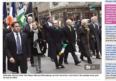 Michael Bloomberg Irish