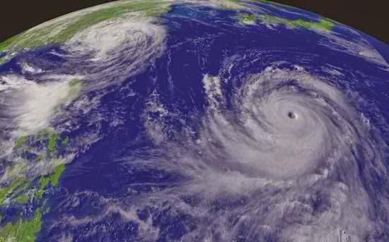 "Super typhoon ""Chaba"""