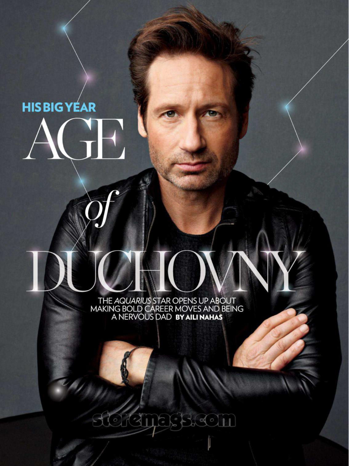 David Duchovny: On His...