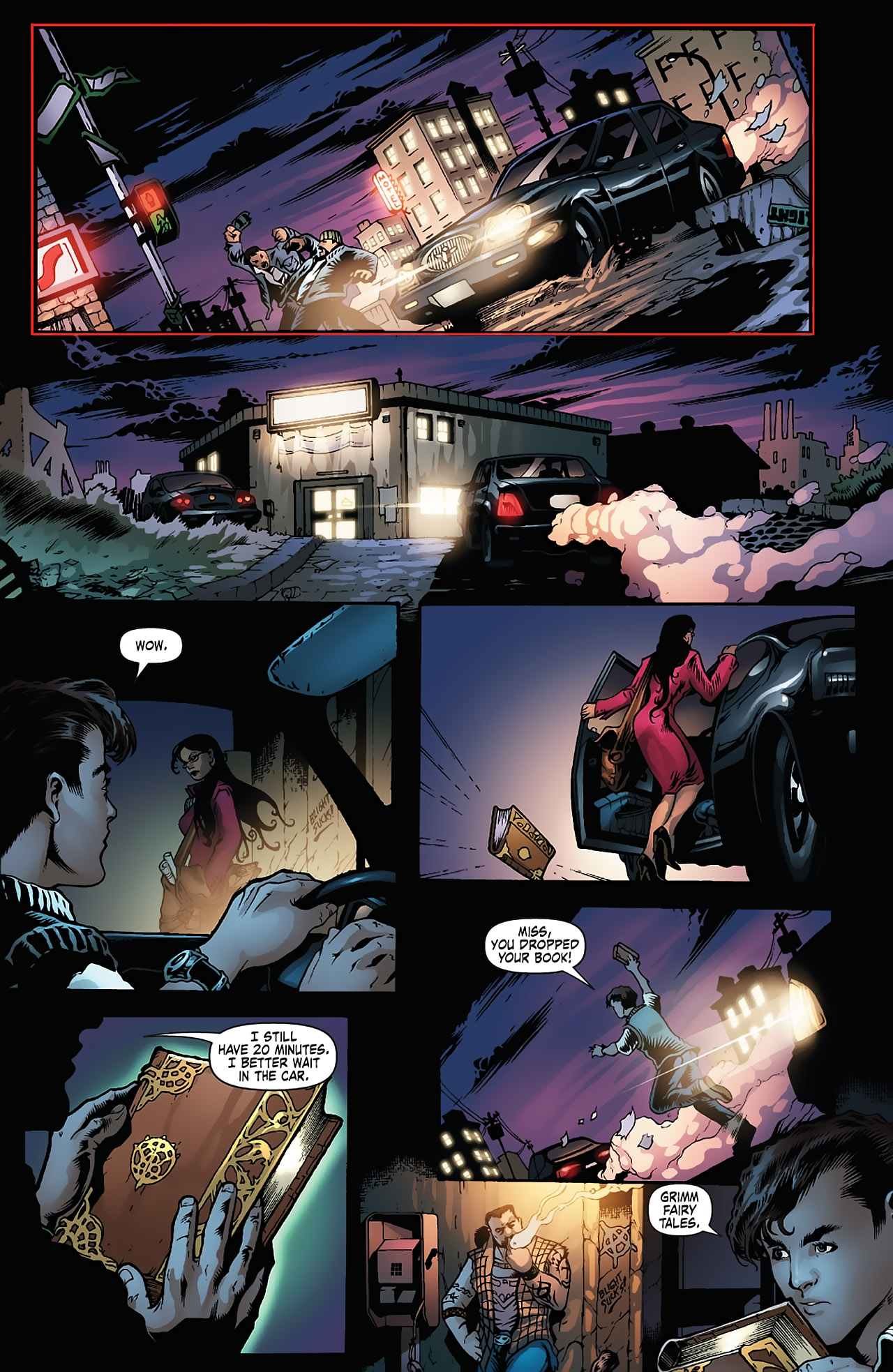 Grimm Fairy Tales (2005) Issue #5 #8 - English 6