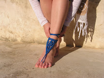 Crochet Barefoot Sandals Nude Shoes Foot Jewelry
