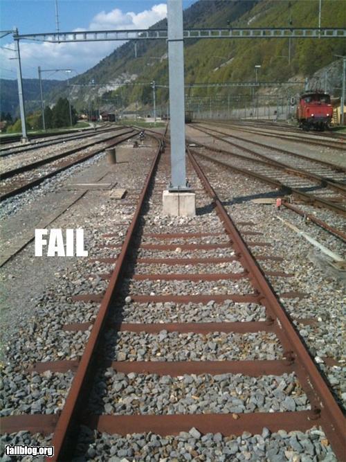 fail vias del tren