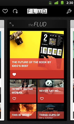 Android RSS Reader: Flud News Reader