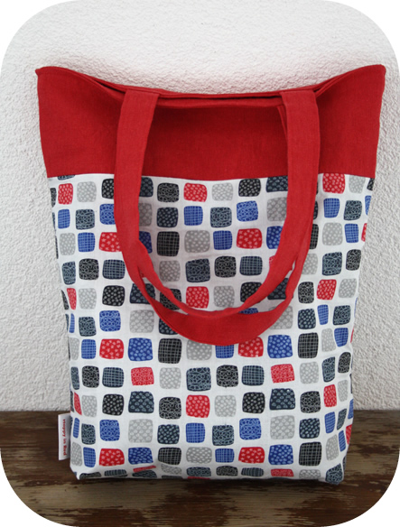 Reversible 2 coloured tote bag tutorial!