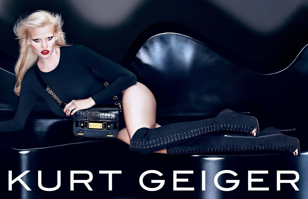 Stone lara kurt geiger fall ad campaign advise dress for everyday in 2019